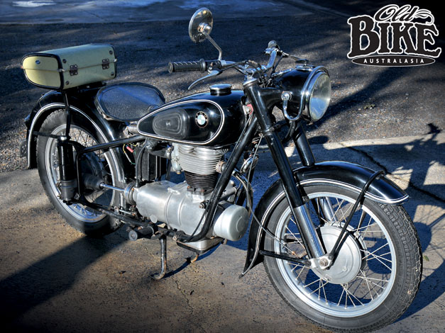 Old Bike Australasia: BMW 250 Single - Secular Single