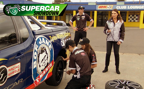 Pitstop Panic Proves costly for V8 Rookies in 2013 Shannons Supercar Showdown