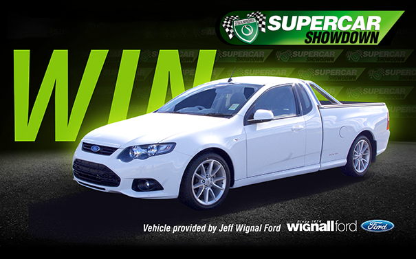 WIN a Ford Falcon XR6 Ute valued at over $42,000