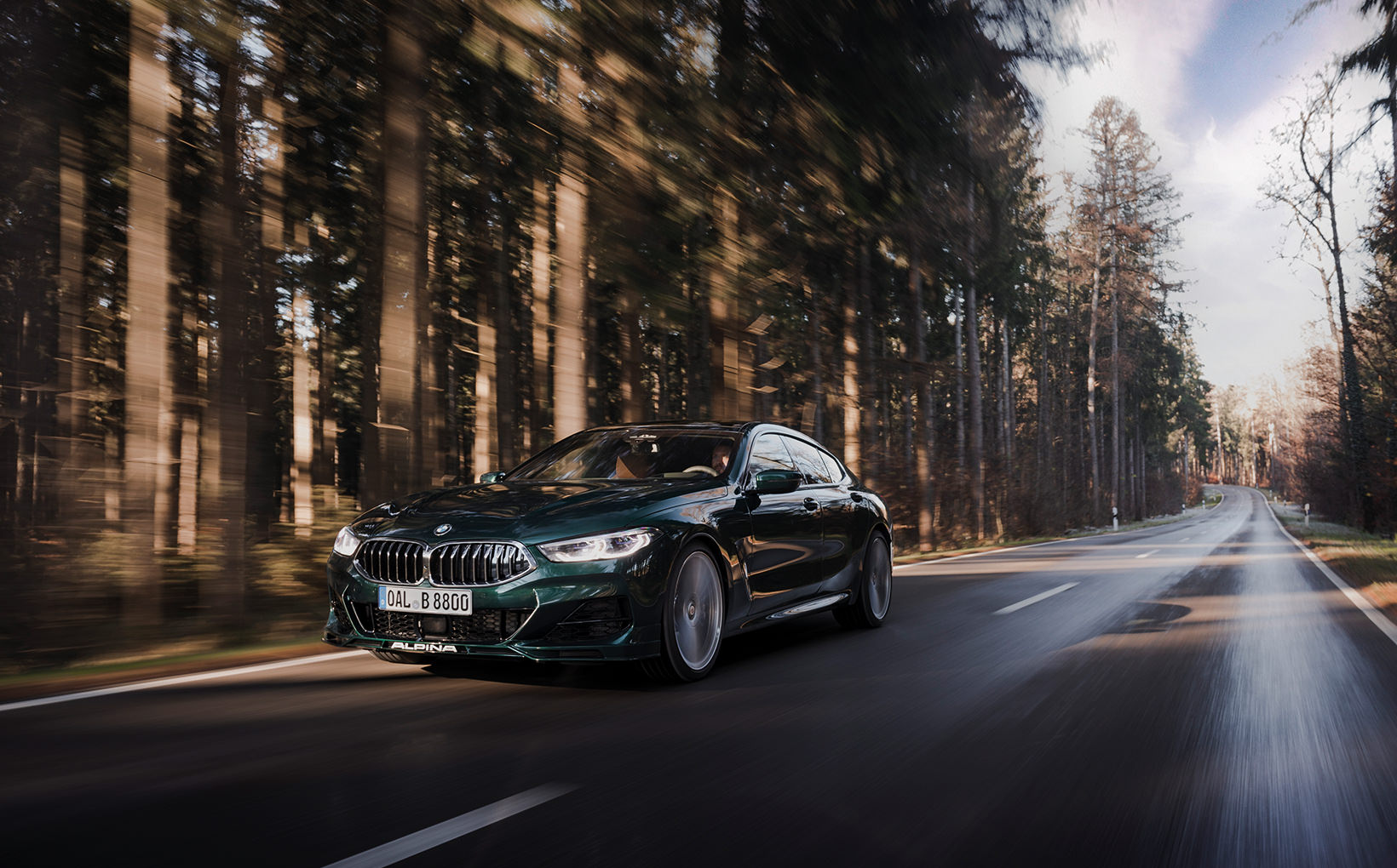 Alpina's new B8 Gran Coupe goes M8, GT63 and S8 hunting
