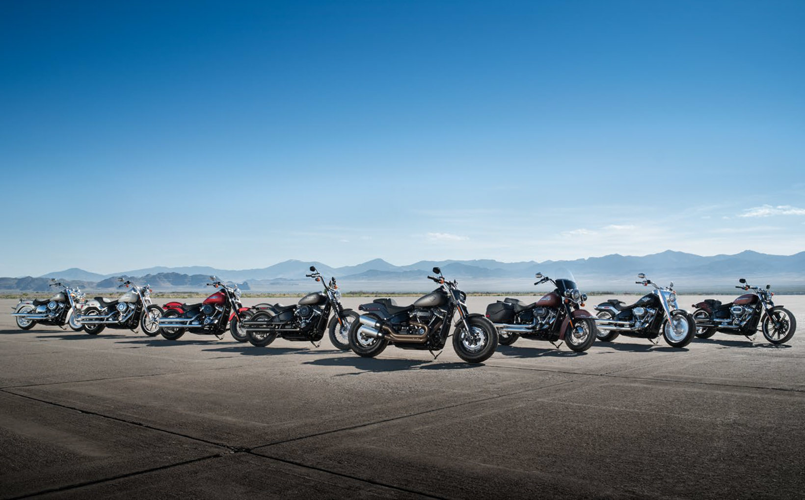 2018 Harley-Davidson Softail Range: Tails from the hard side
