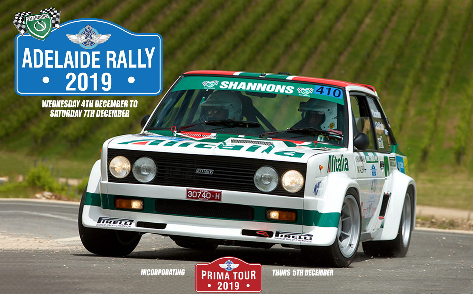 2019 Shannons Adelaide Rally