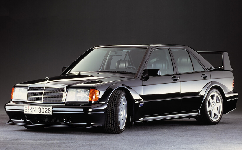 Mercedes-Benz 190E: small car standard for the world