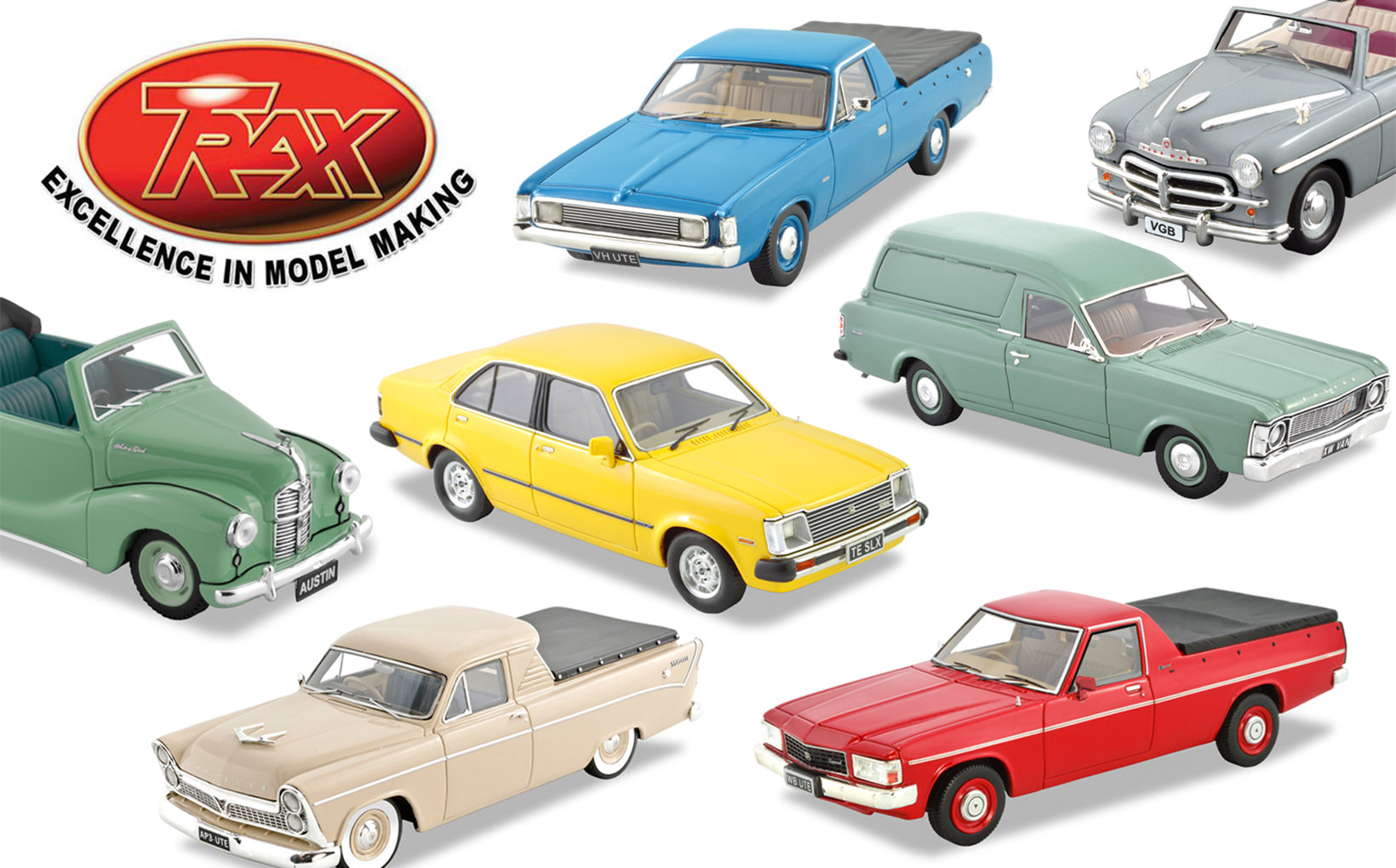 TRAX Model Car Reviews: Summer 2019-2020