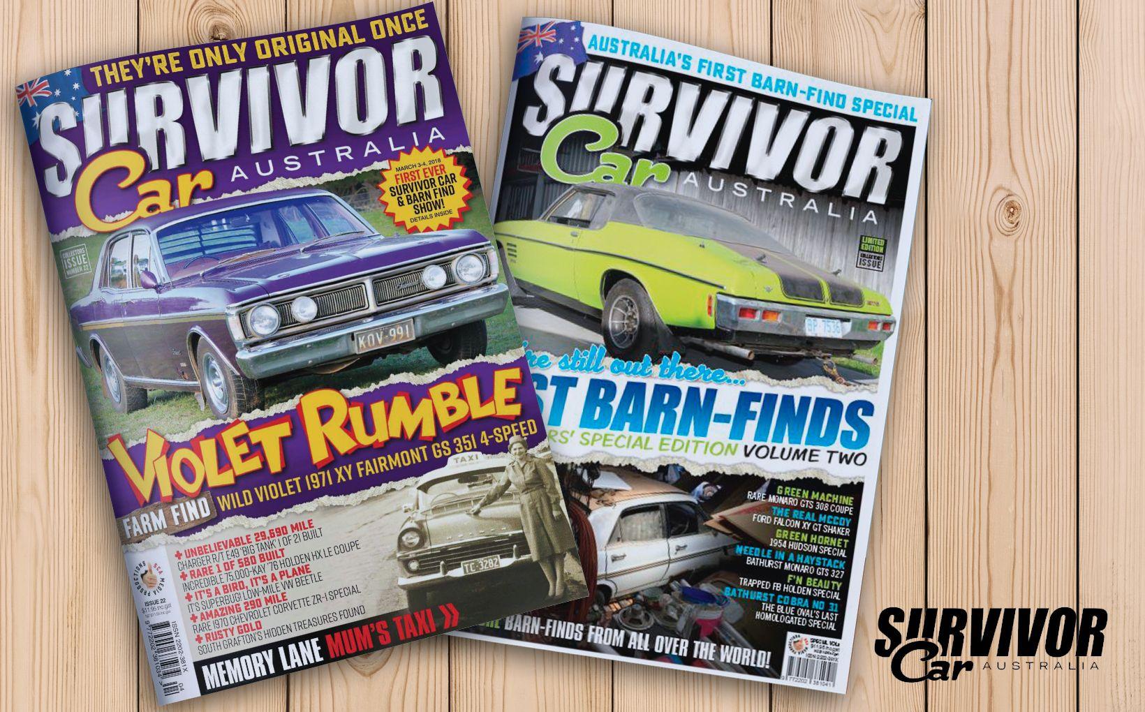 Survivor Car Australia - Exclusive Subscription Offer
