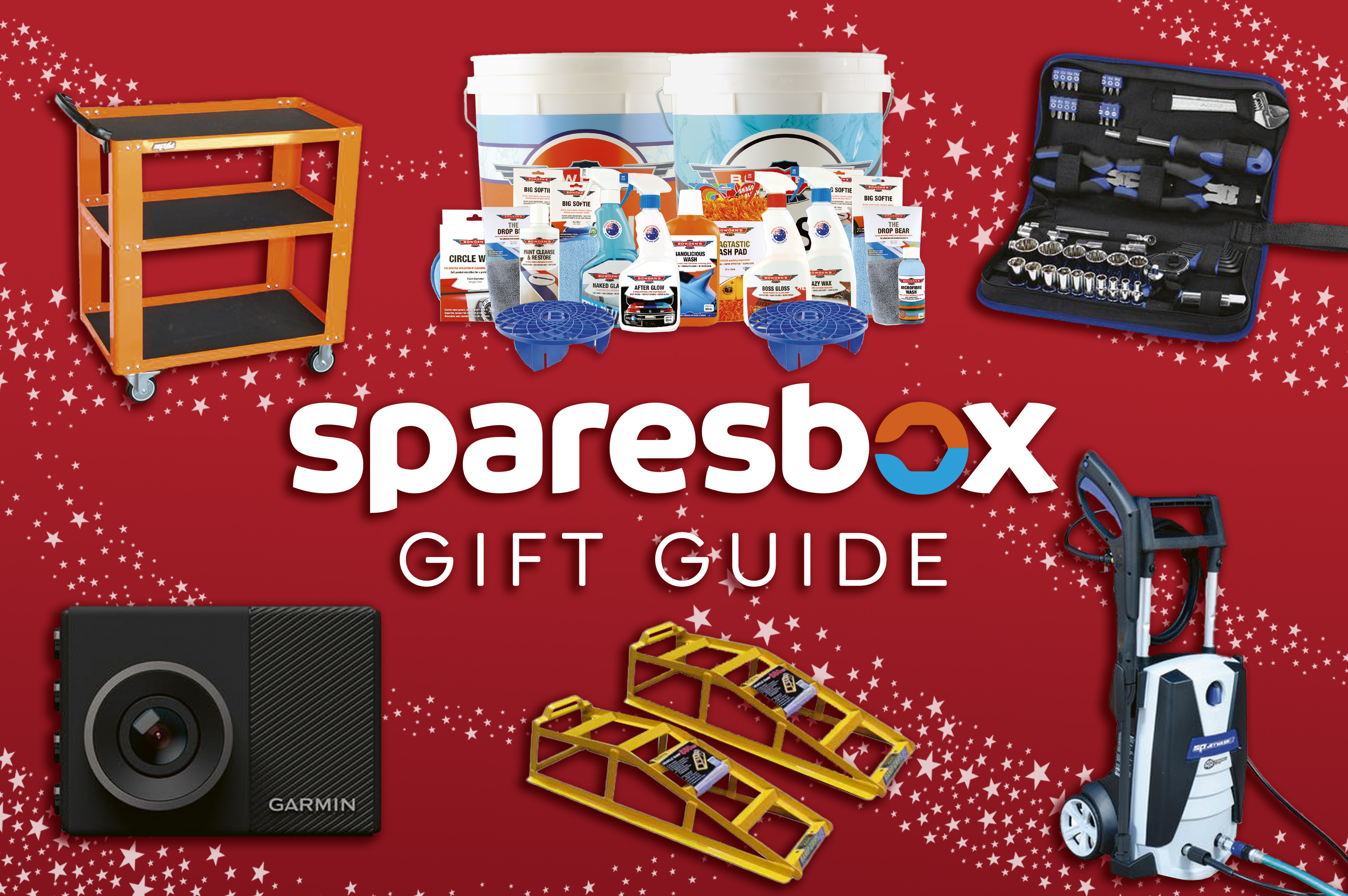 Sparesbox Gift Guide - Plus 10% Off Sparesbox Products Storewide