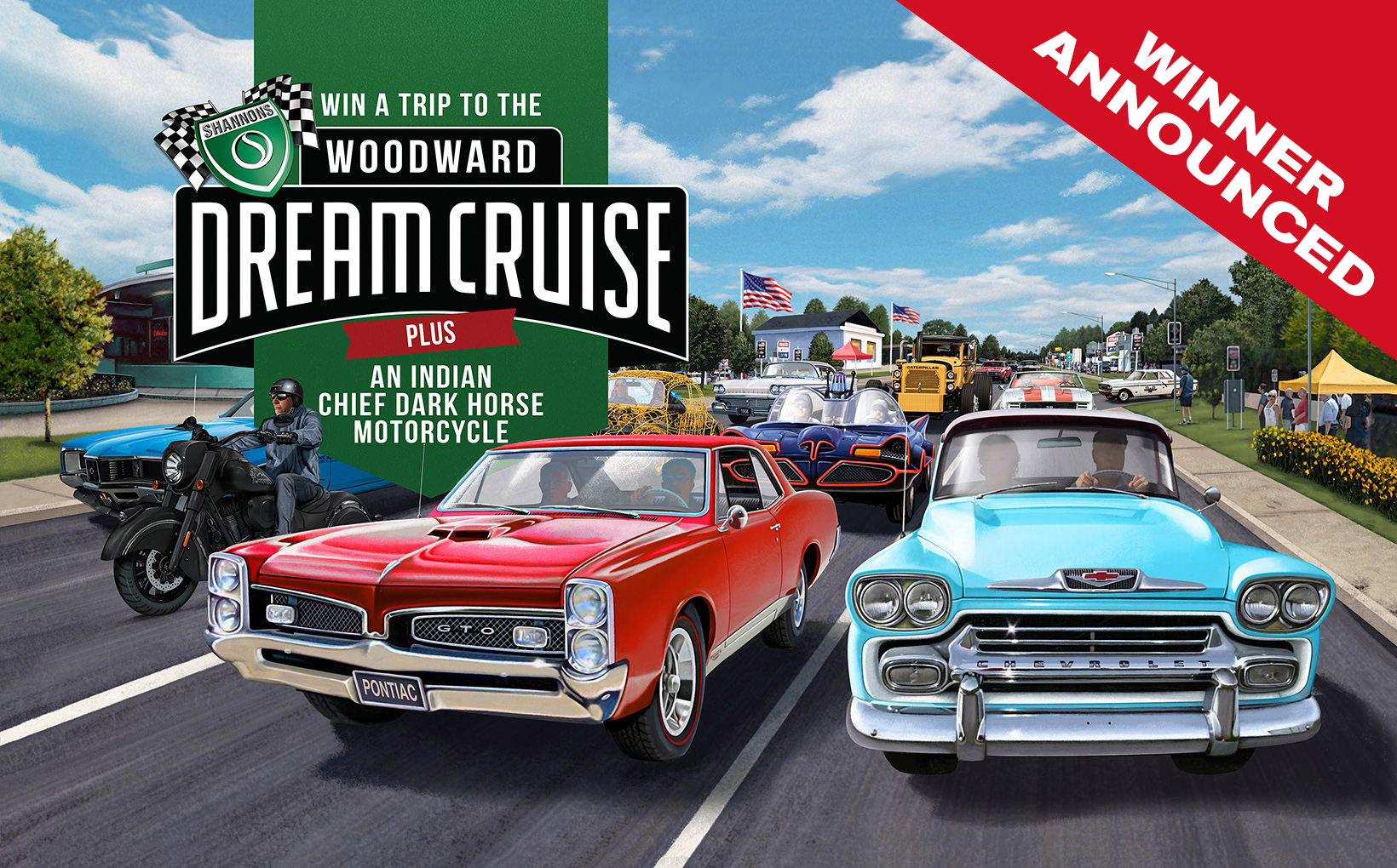 Loyal Shannons Customer Wins Woodward Dream Cruise Competition