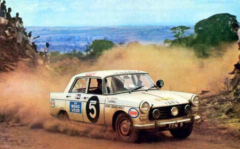 Peugeot 404: Legend of the East African Safari
