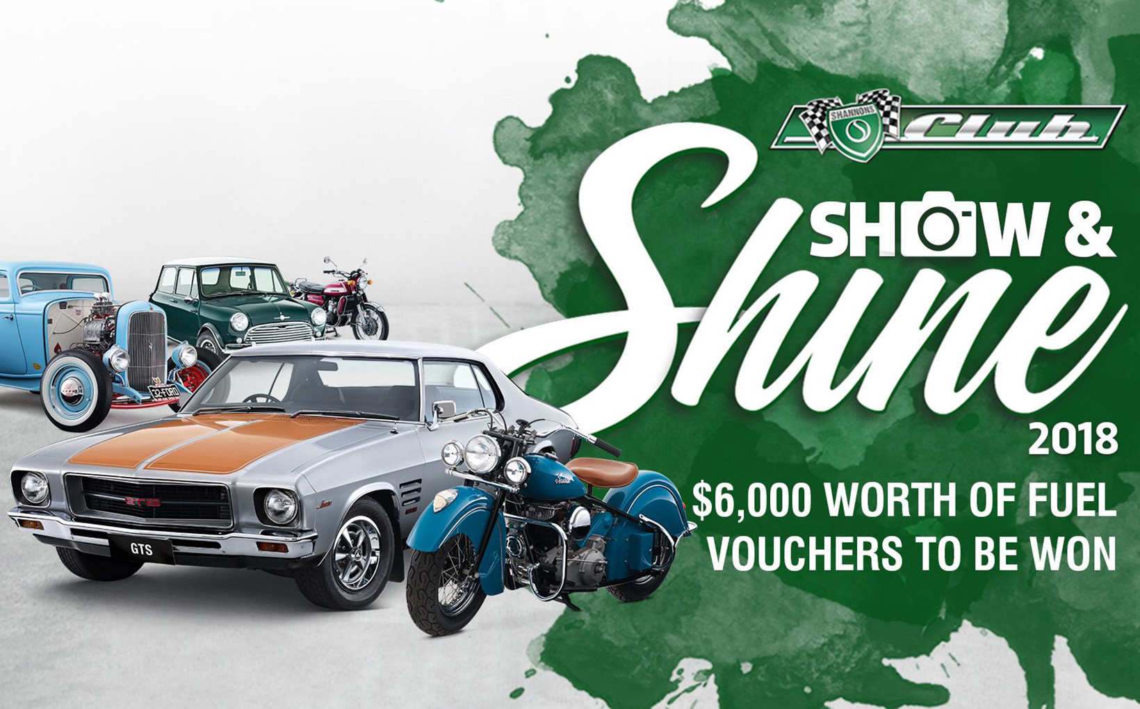 The annual Show and Shine competition is here, with $6,000 worth of fuel vouchers to be won!