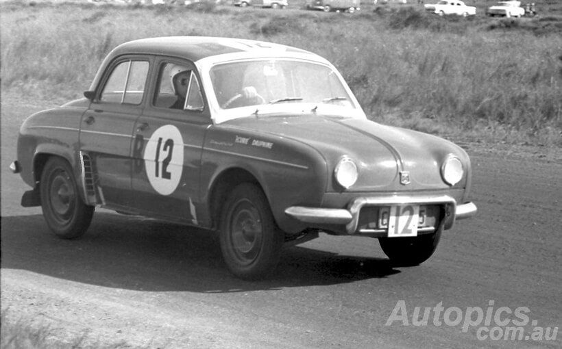 Renault Dauphine Gordini: European rally star. Armstrong 500 champion.