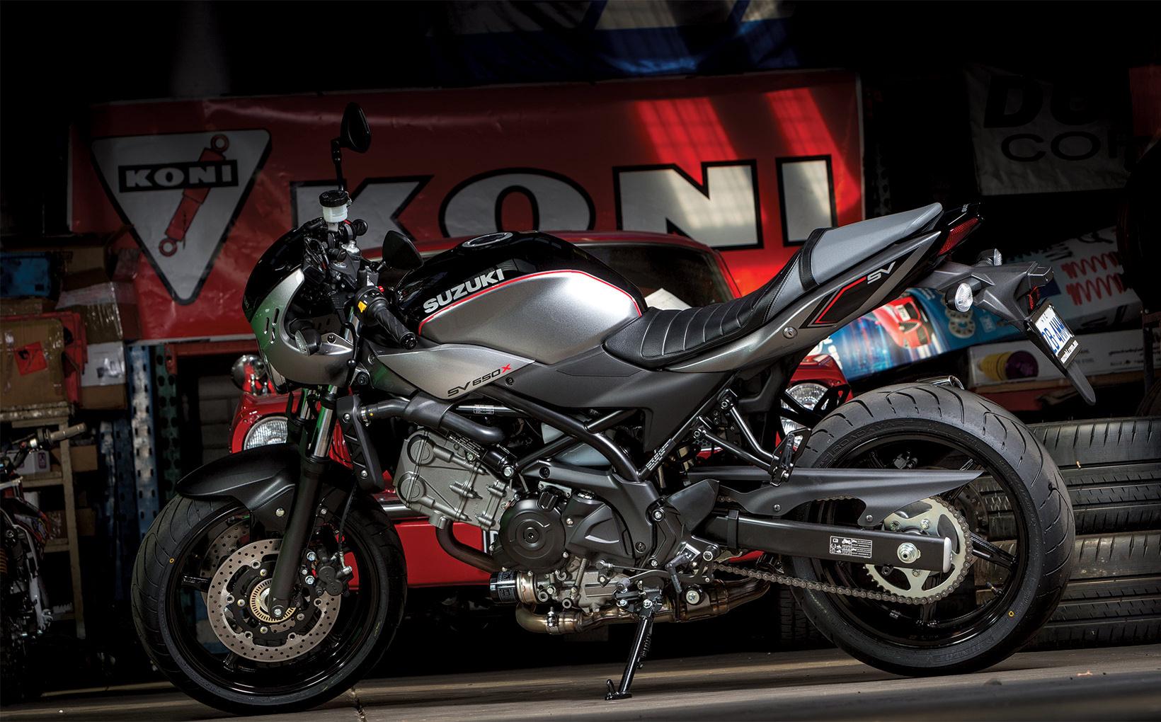 2018 Suzuki SV650X: The X Factor