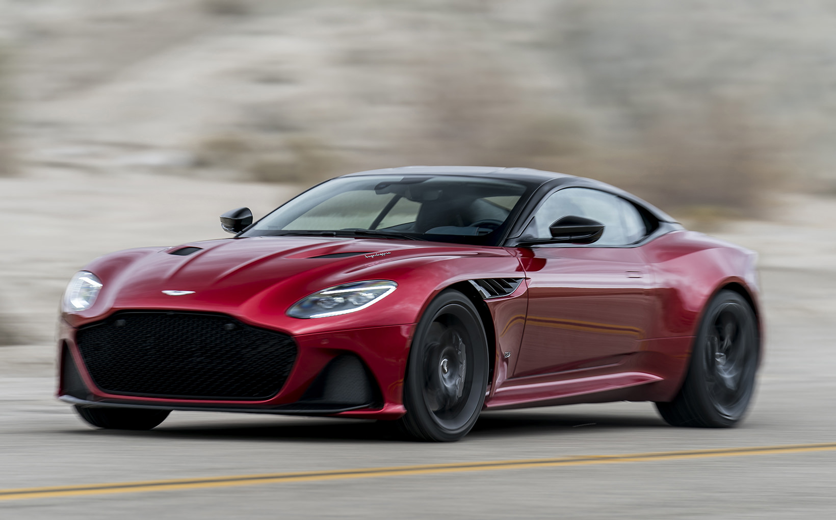 Aston Martin unveils sharply-dressed DBS Superleggera