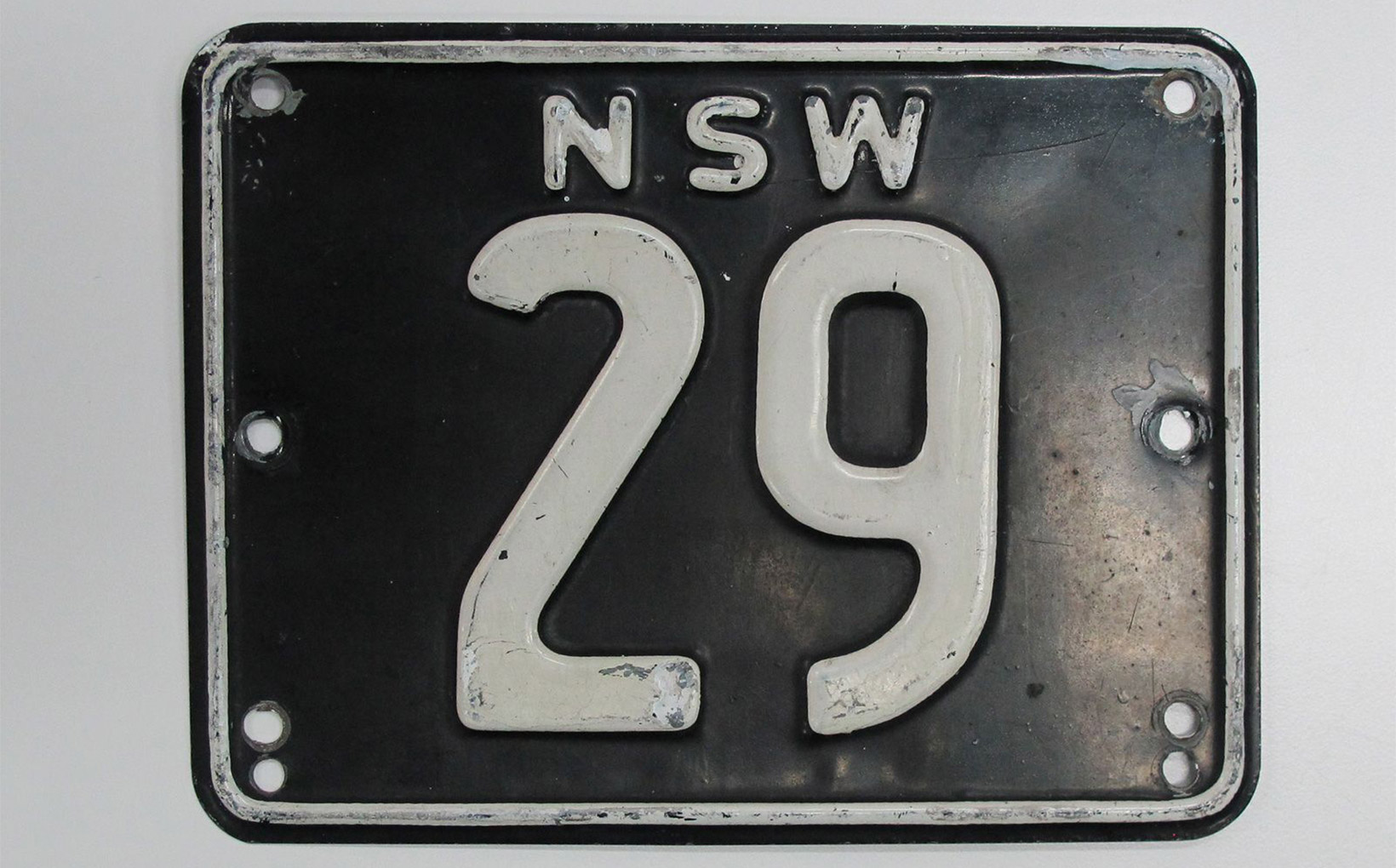 Rare NSW numerical plates at Shannons Sydney Autumn Sale