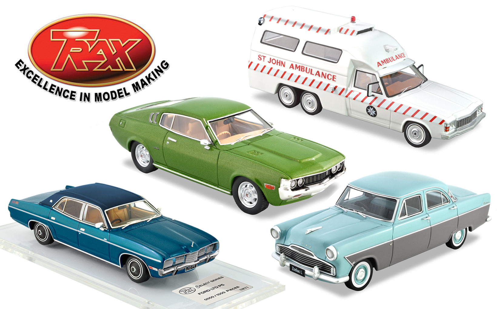 TRAX Model Car Reviews – Spring 2019