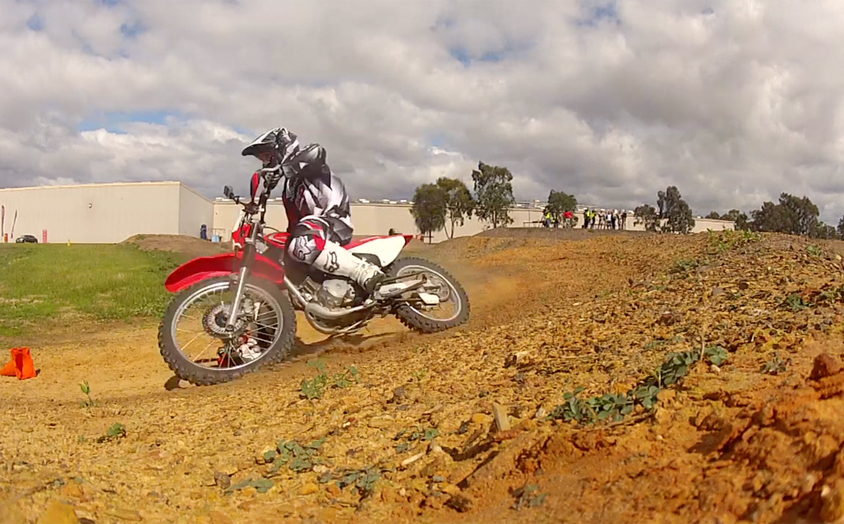Dirt Riding Tip: Berms