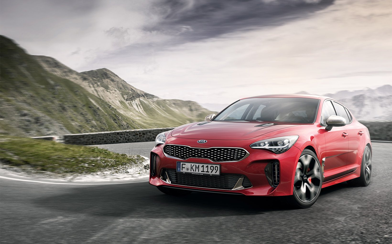 Rear-drive turbocharged V6 Kia Stinger GT to sell from $50k