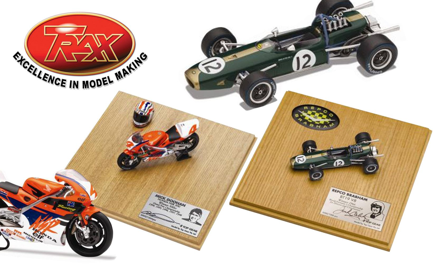 The Ultimate Christmas Gift – Jack Brabham & Mick Doohan Signature Edition Models