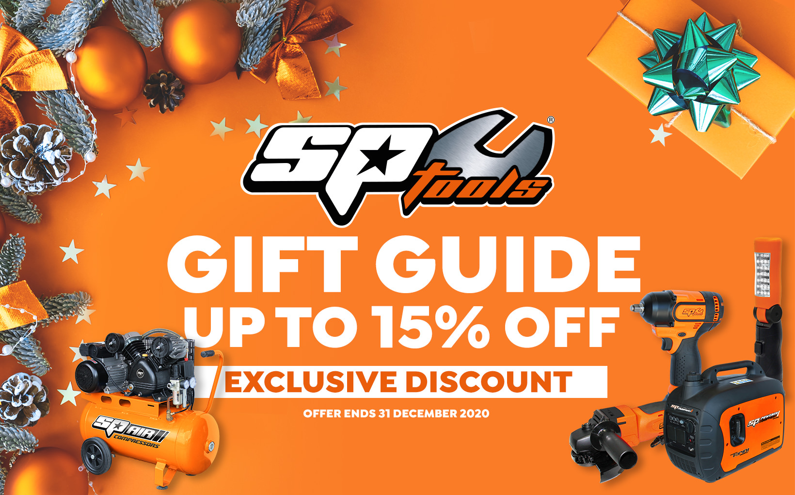 SP Tools Gift Guide - Plus Up to 15% Off