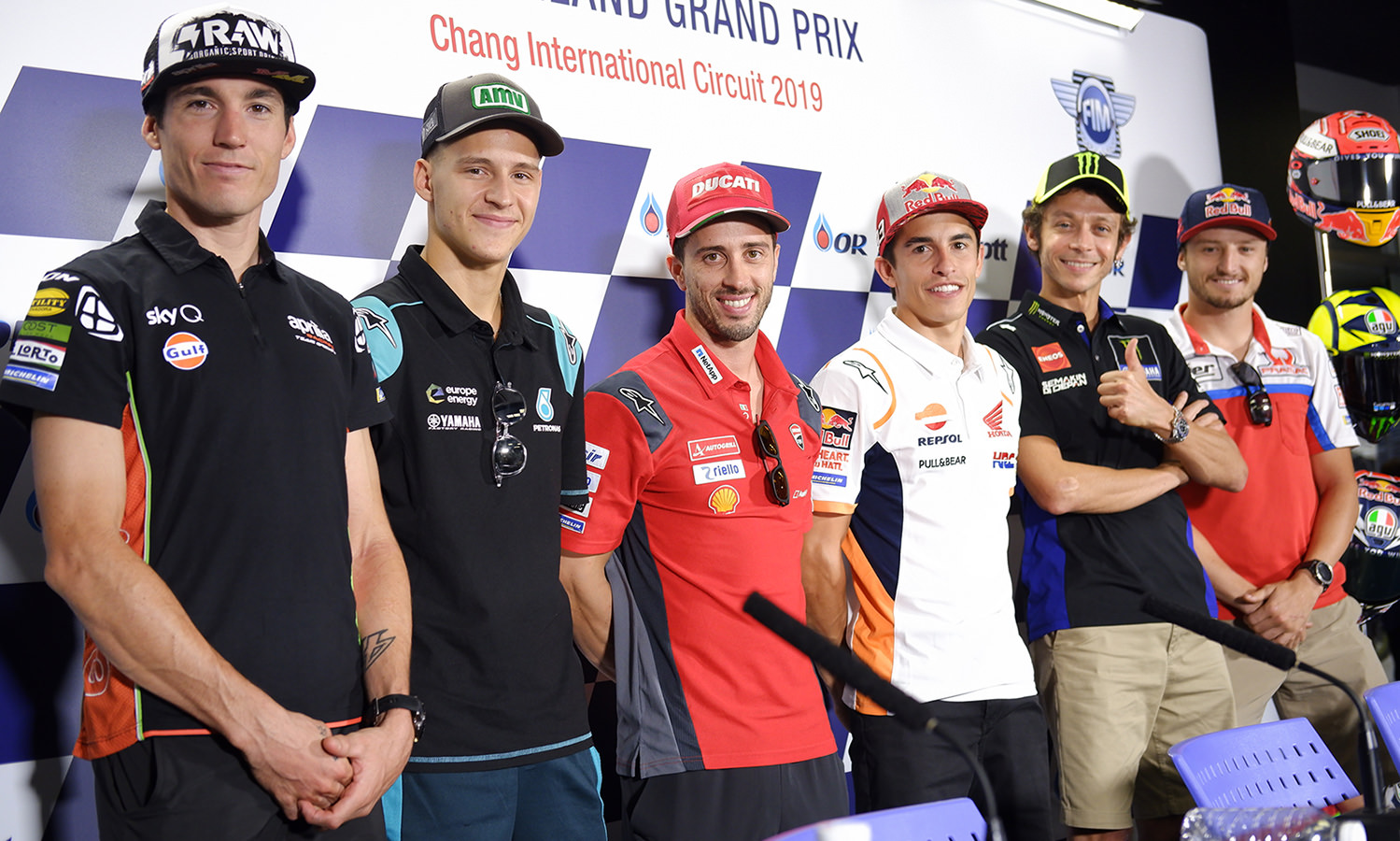 Marc Marquez First Opportunity For The World Championship In Thailand!
