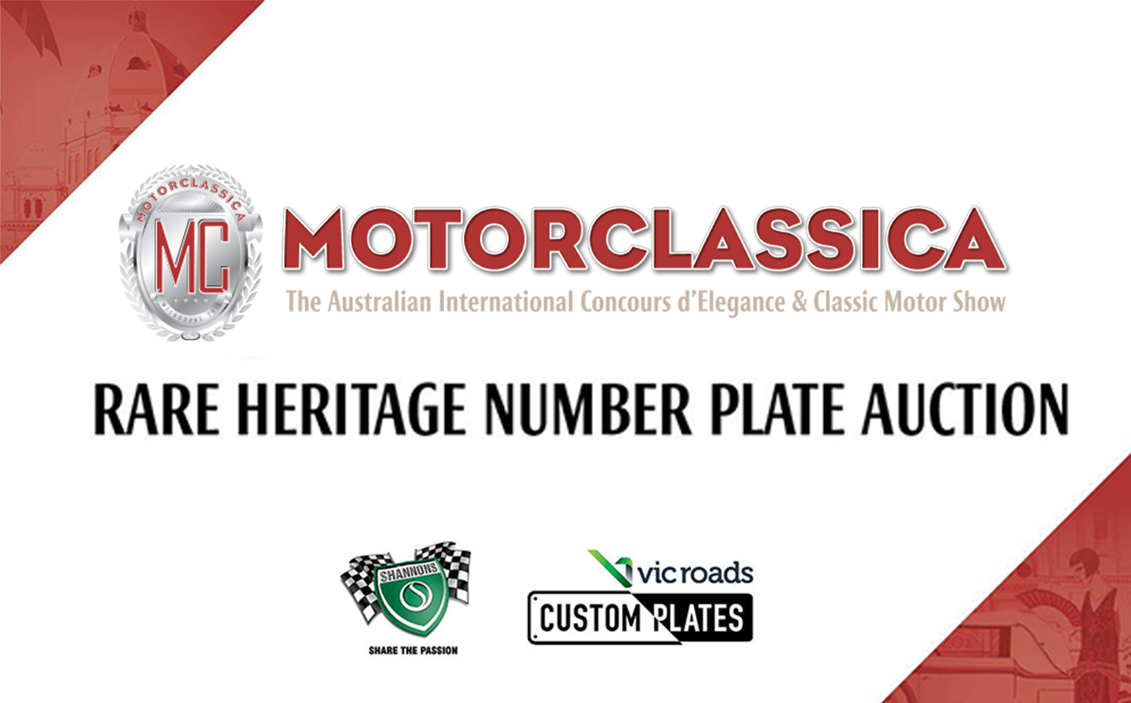 Motorclassica Confirms Rare Heritage Number Plate Auction