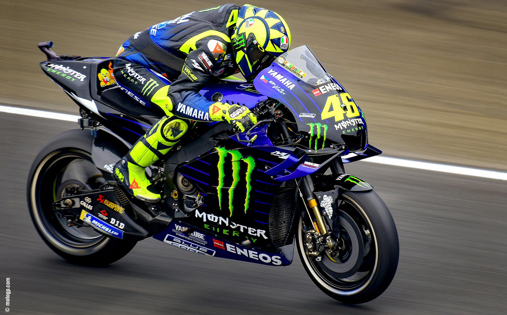 Valentino Rossi Tests Positive for Covid-19 as Aragon Round Arrives