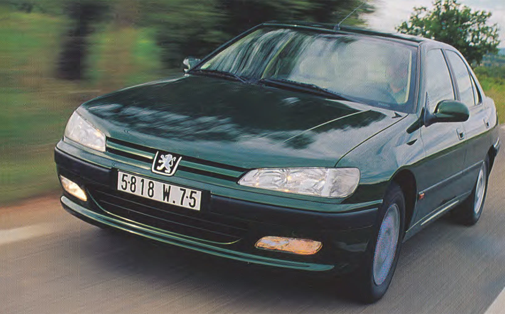 Peugeot 406: I'm all right Jacques