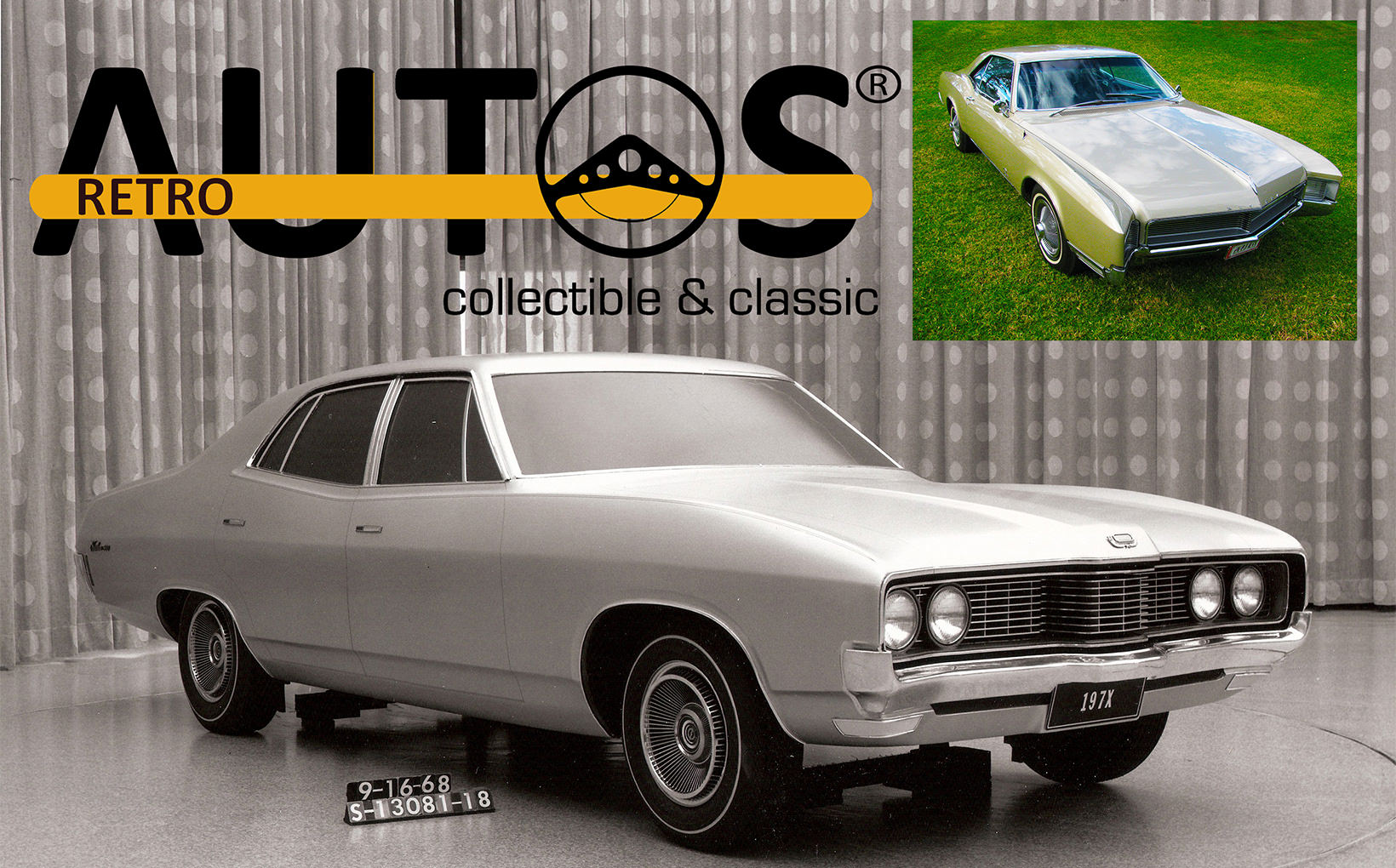 Retroautos September 2017 -Exclusive! ZF Fairlane prototypes, 1966 Buick Riviera, EJ Holden wagon, 1966 Mustang and an Aussie-built 1933 Dodge