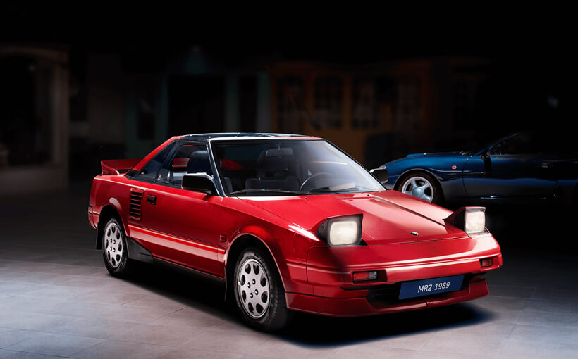 Toyota MR2: surely the closest thing to a bargain basement Ferrari