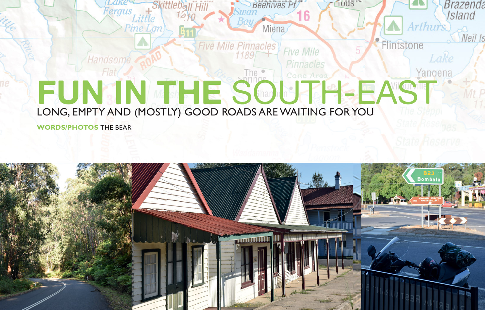 Fun in the South-East - Long, Empty and (Mostly) Good Roads are Waiting for You