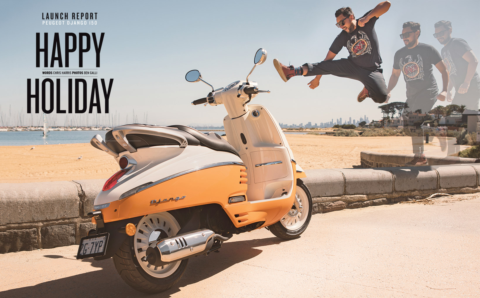 Peugeot Django 150: Happy Holiday - Shannons Club