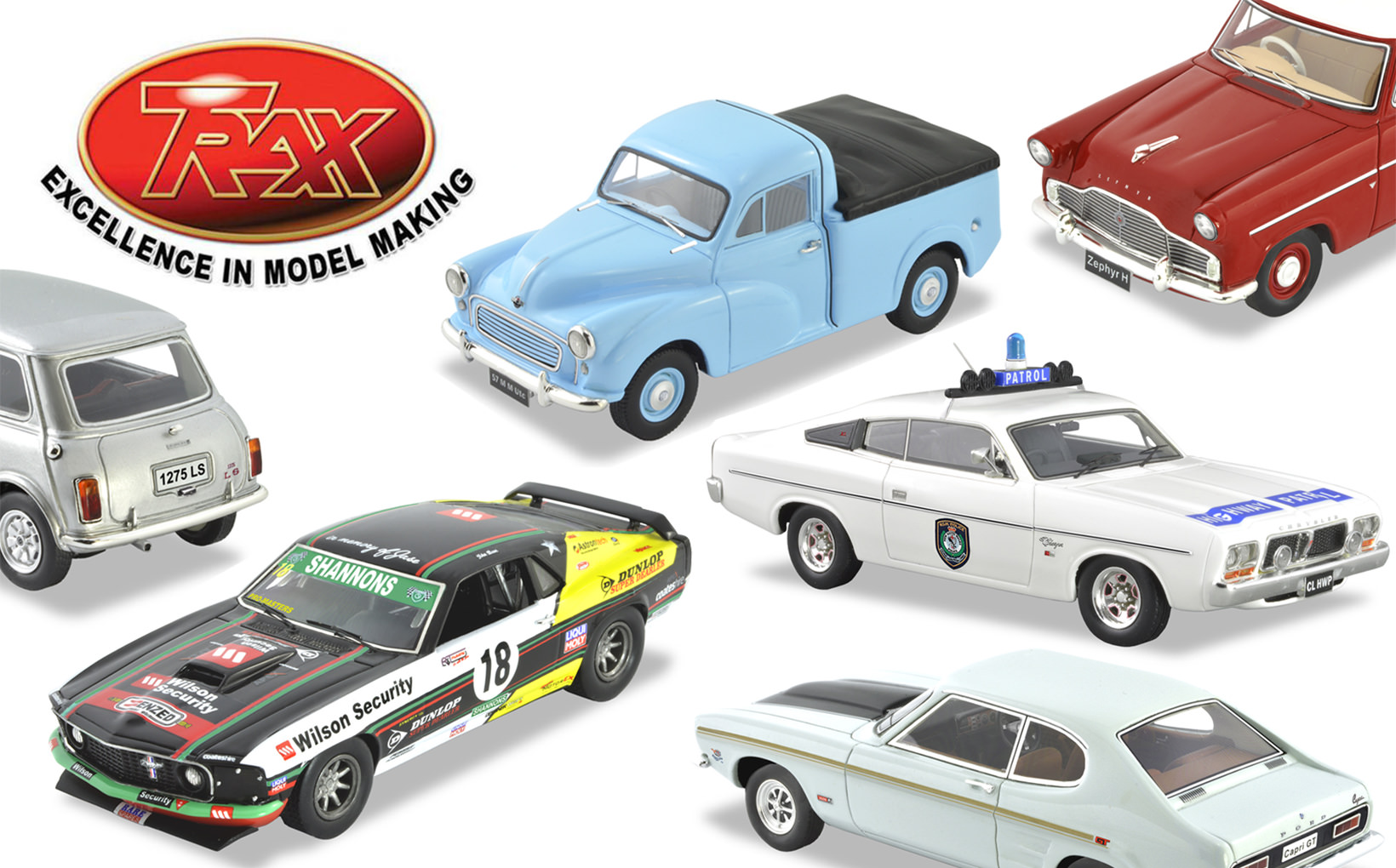 TRAX Model Car Reviews: Autumn 2020