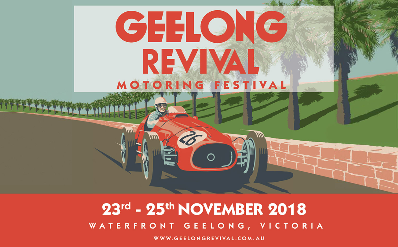 Geelong Revival Motoring Festival: 23rd - 25th November 2018