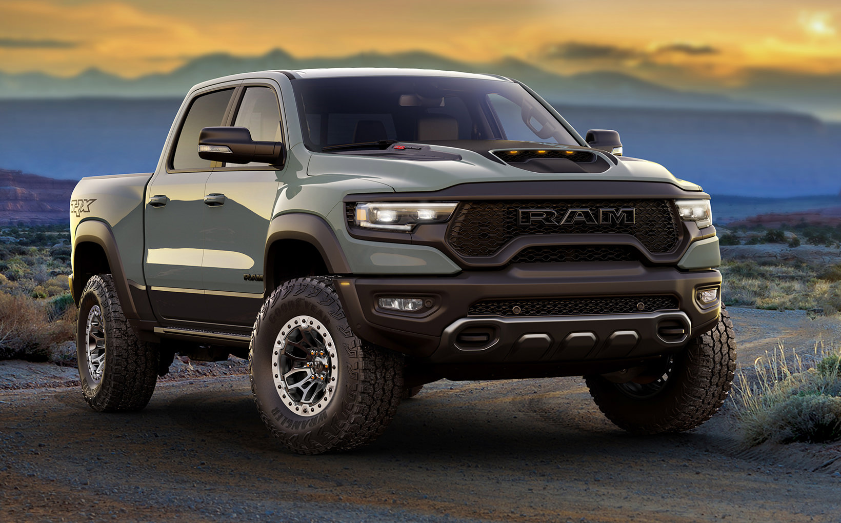 Ram takes its 1500 pick-up truck to the next level with insane supercharged TRX