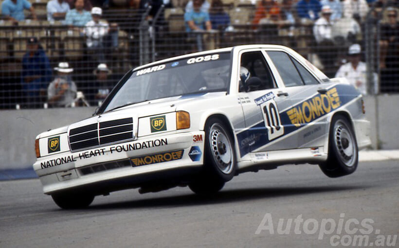 Mercedes-Benz 190E Cosworth: Stuttgart's Anglo-German Bathurst Champ