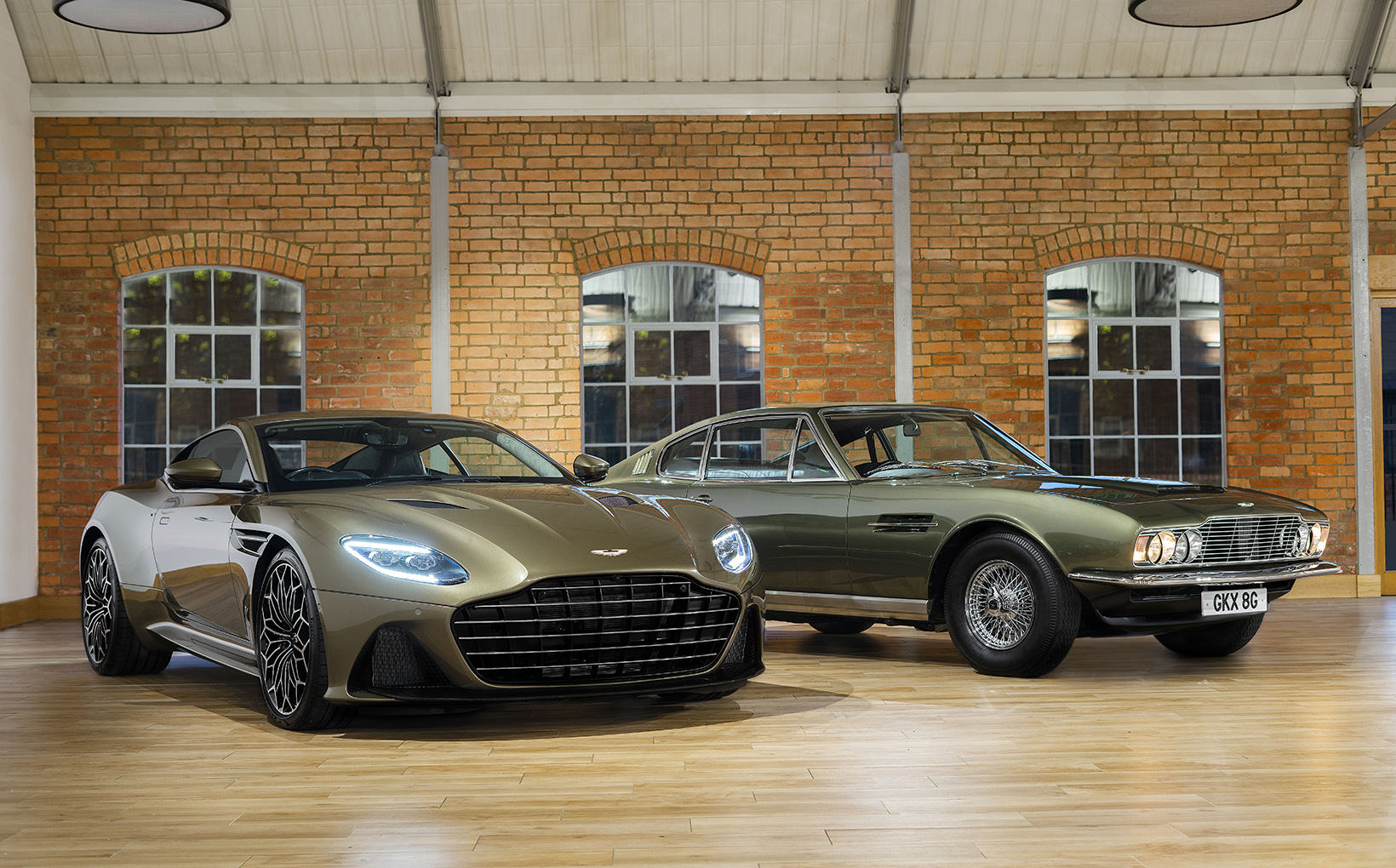 Aston Martin DBS Superleggera serves up secret