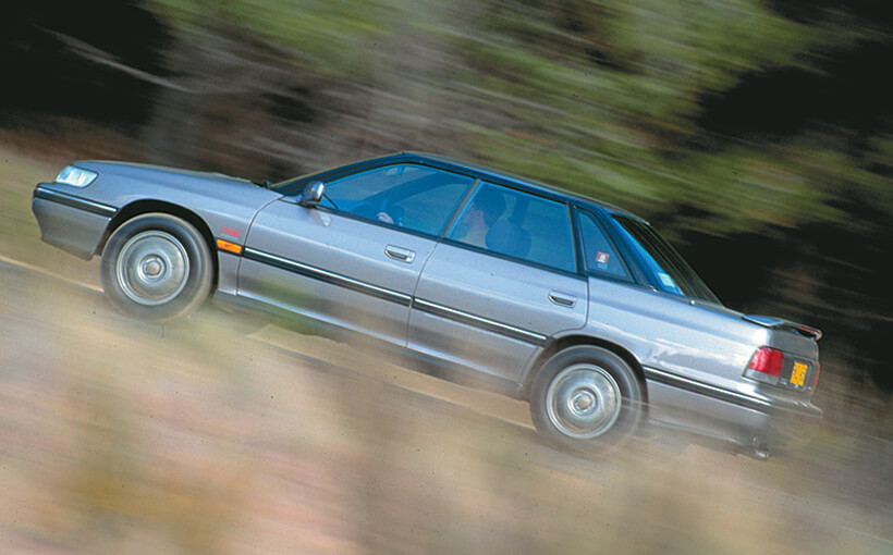 Subaru Liberty RS Turbo: the breakthrough Subaru
