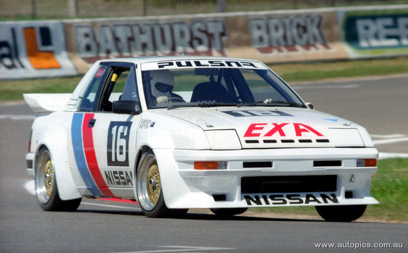 Nissan Pulsar EXA: The Group C Bluebird's Sinister Offspring