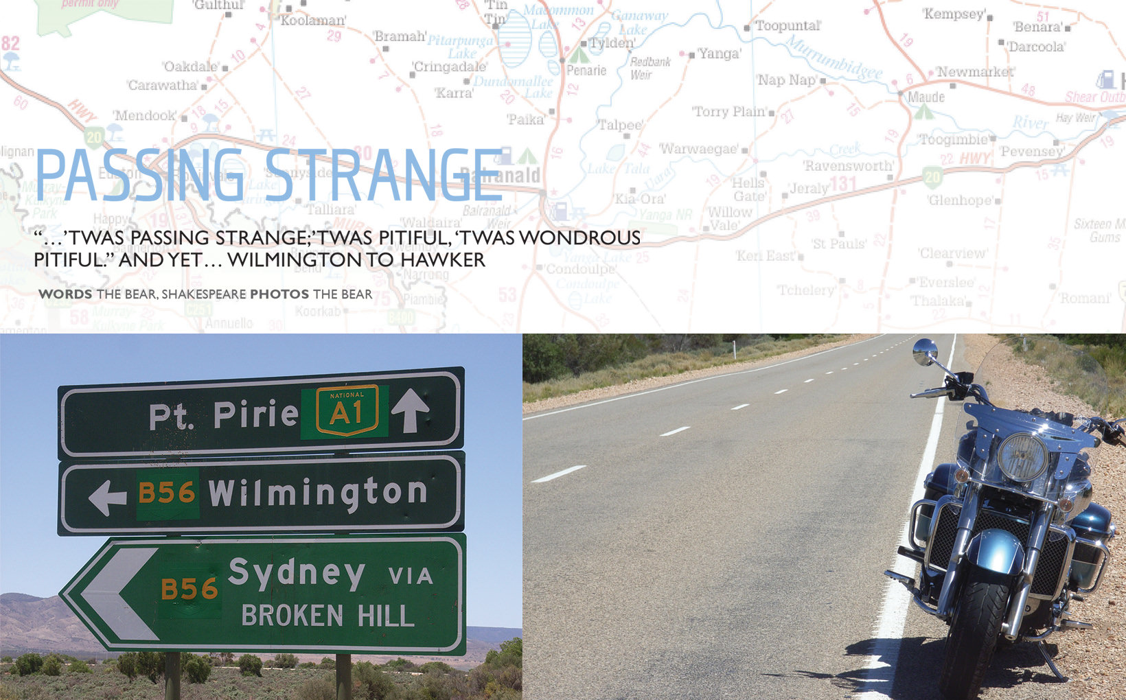 Passing Strange: Wilmington to Hawker
