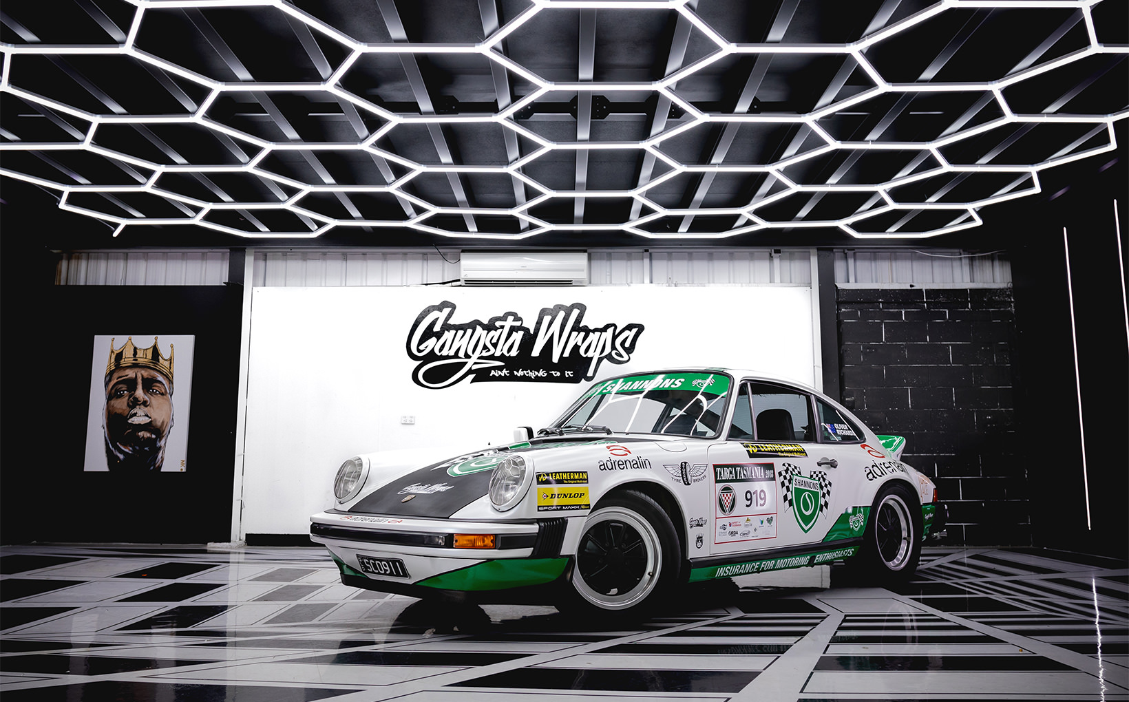 Shannons and Gangsta Wraps join forces to produce  a tribute to Jim Richards