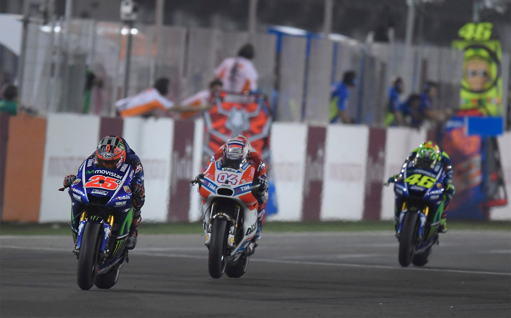 Qatar MotoGP weather shakes up the rider's confidence