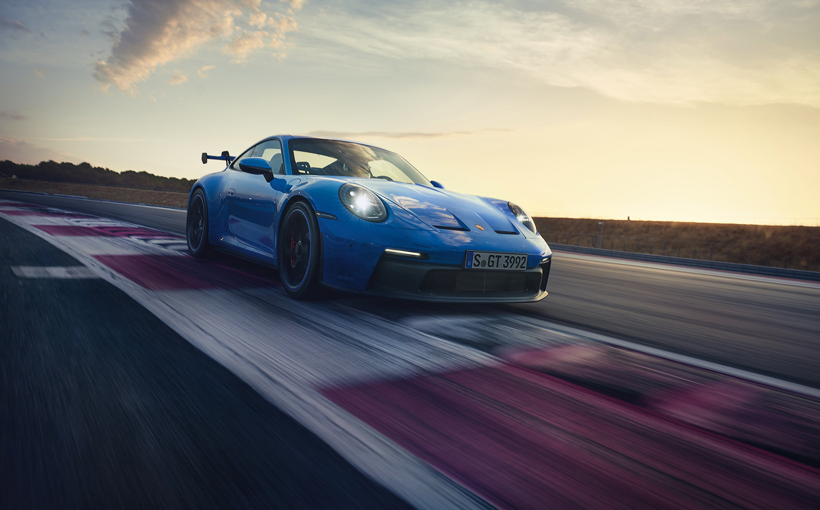 Porsche debuts its new-generation 911 GT3, and it means business