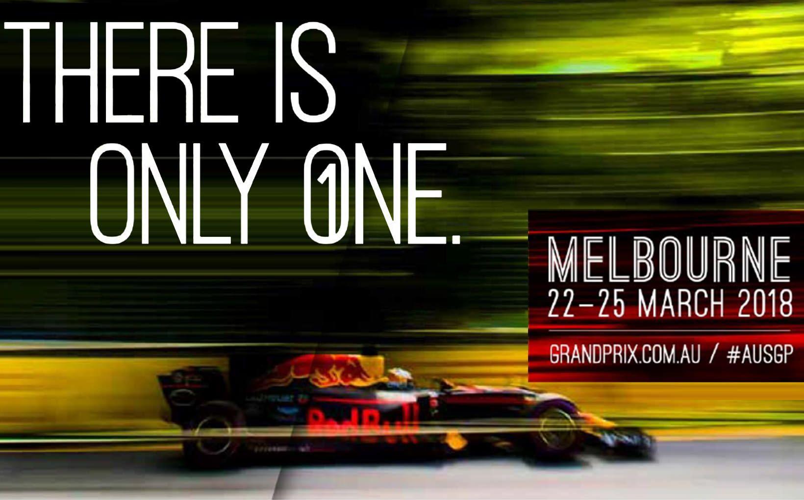 Formula 1<sup>&reg;</sup> 2018 Rolex Australian Grand Prix - Discount Ticket Offers