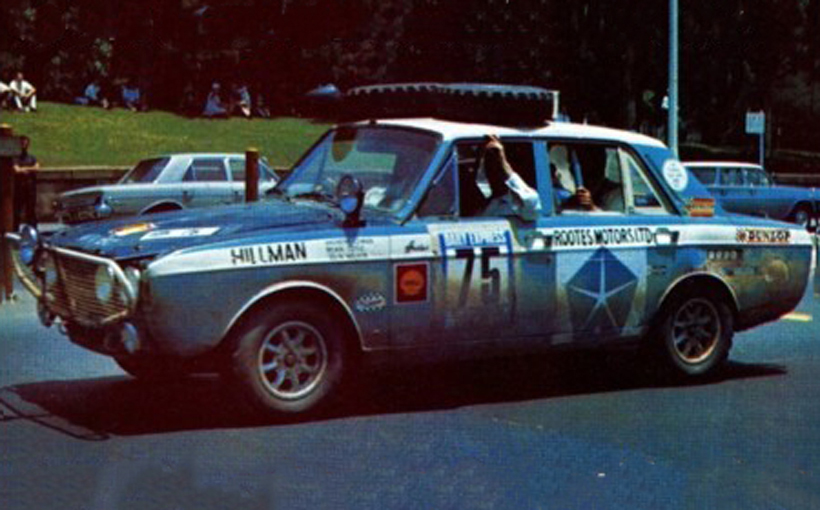 Hillman Hunter: To Finish First, First You Must Finish