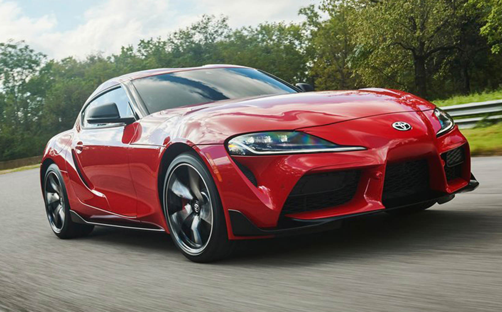 Toyota's new flagship Supra exposed