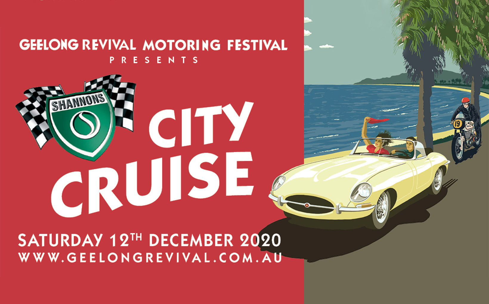 Geelong Revival Motoring Festival - Shannons City Cruise