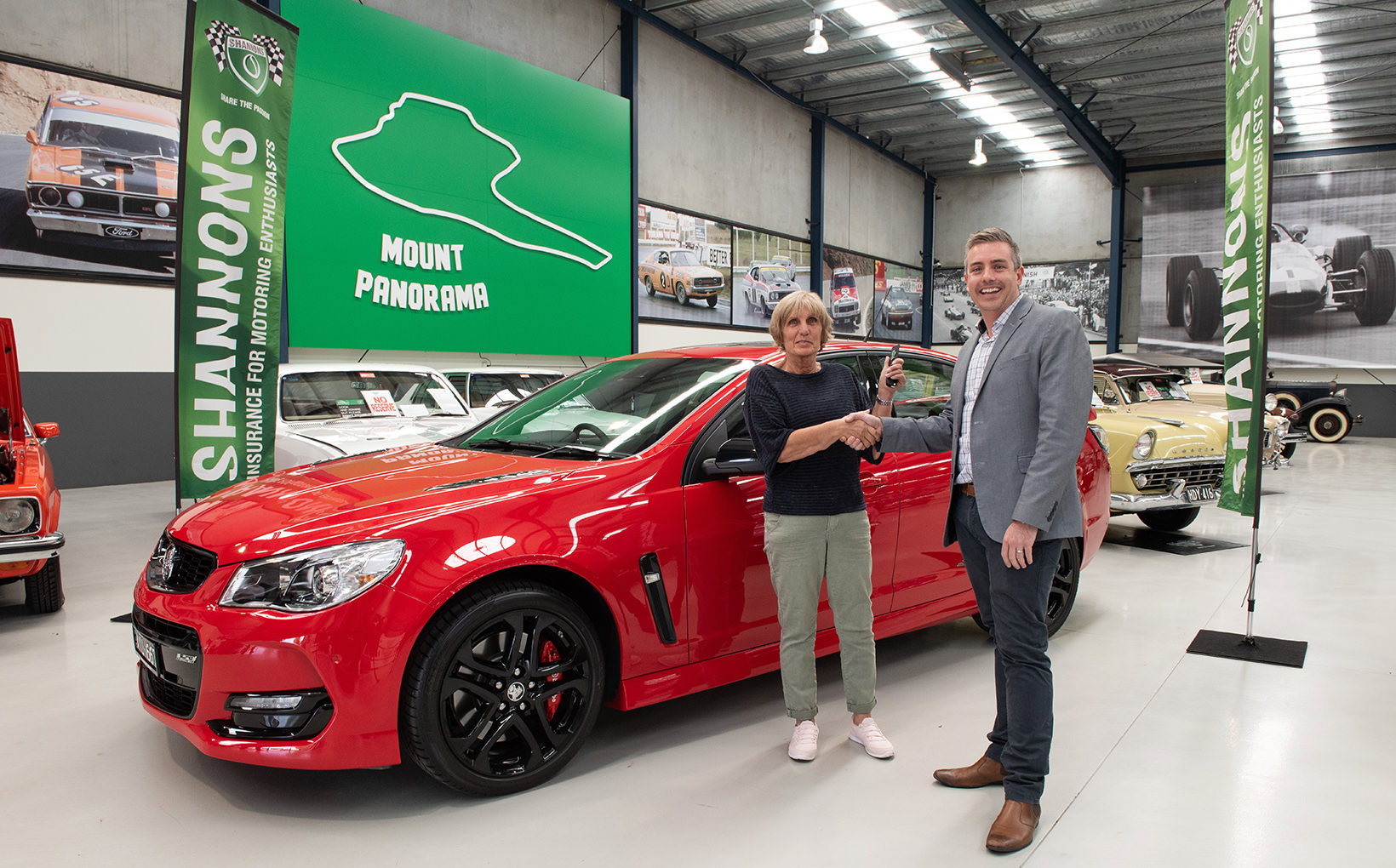 Shannons Announce Holden VF Commodore SSV Redline Competition Winner