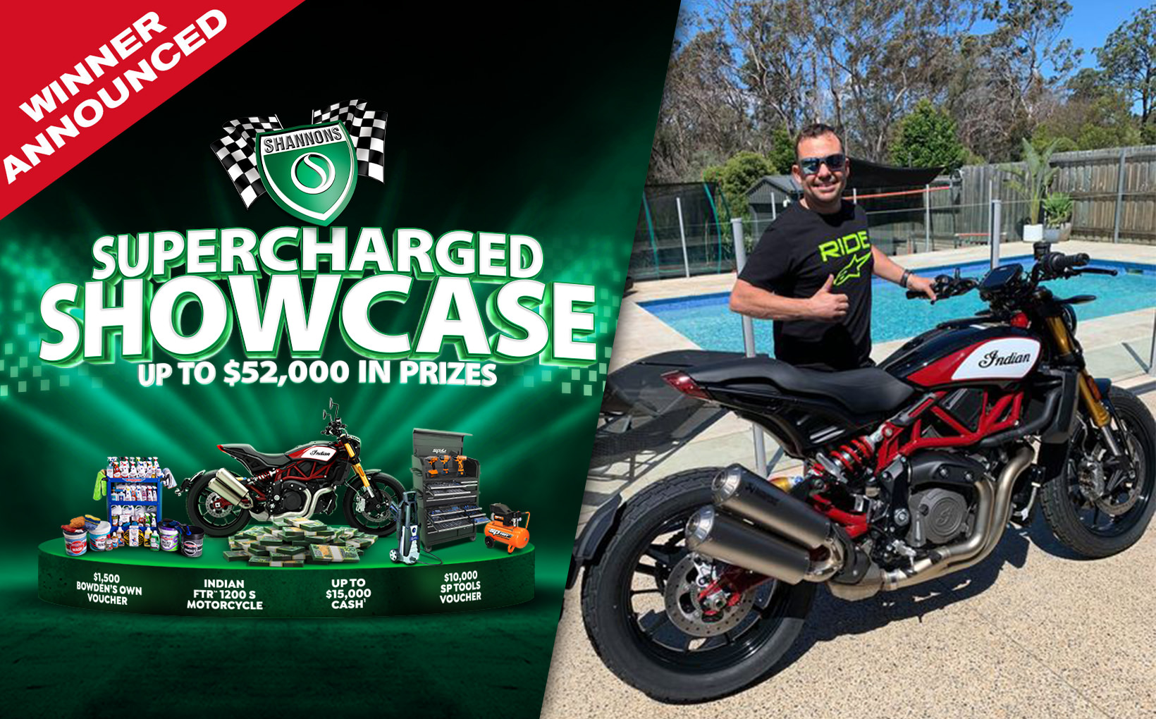 Shannons Supercharged Showcase Winner Announced
