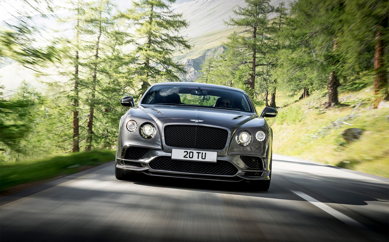 Bentley Continental Supersports takes world's fastest four-seater title