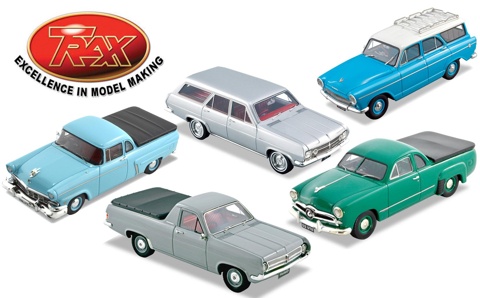 TRAX Wagon & Ute Model Reviews