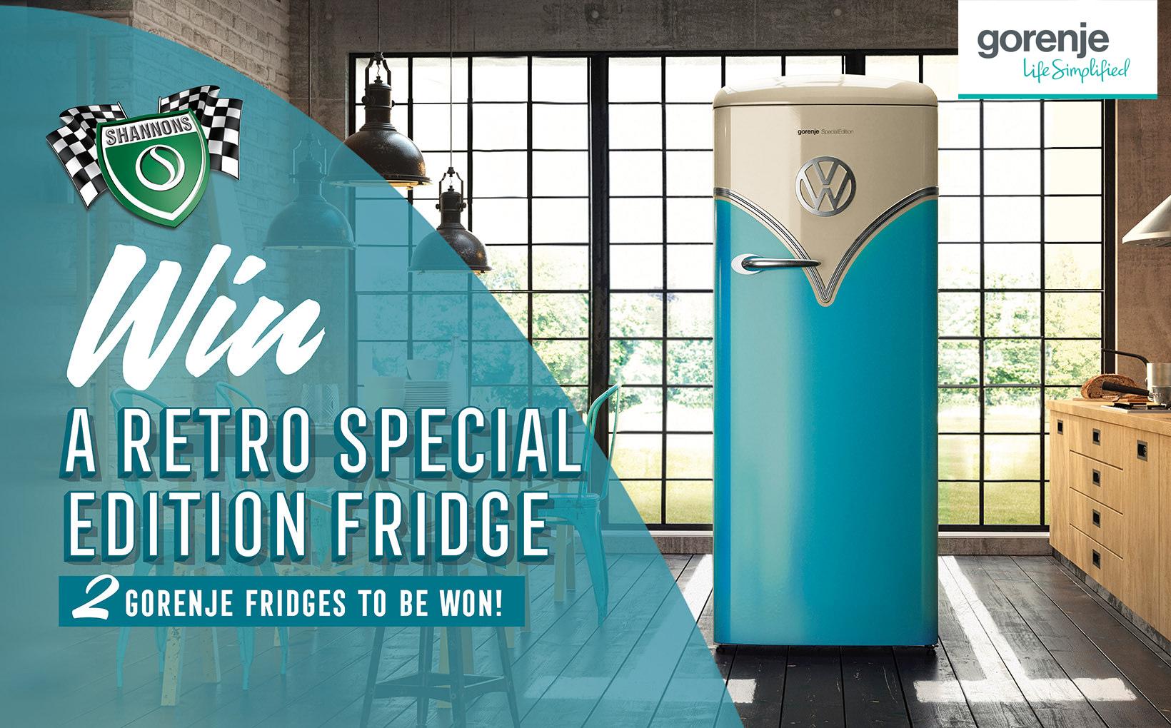 WIN a Gorenje Retro Special Edition Fridge